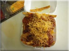 Taco Pete Chili Cheese fries