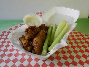 Taco Pete hot wings!